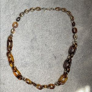 Jewelry - Long brown necklace